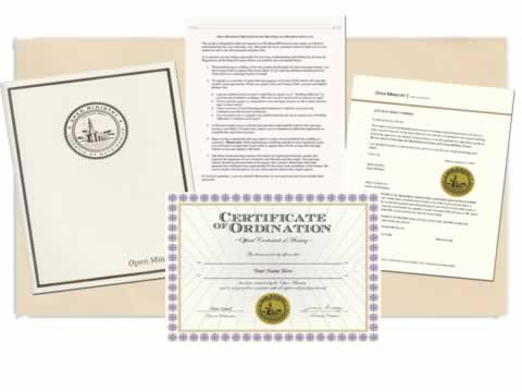 How to Get Ordained to Perform a Wedding
