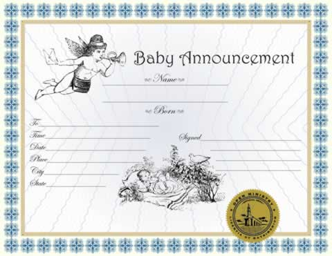 Baby Announcemnet