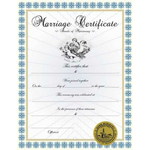 Marriage Certificate I