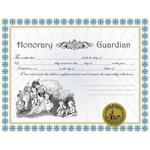 Honorary Guardian Certificate