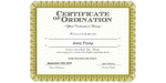 Ordained Minister Avery Trump